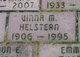Vinna M <I>Bowers</I> Helstern