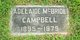 Profile photo:  Adelaide <I>McBride</I> Campbell