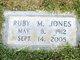 Ruby M. Jones