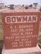 Almer Ellsworth Bowman
