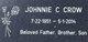 Johnnie Cleveland Crow
