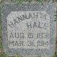 Hannah M Hale
