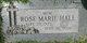 Rose Marie <I>Rayl</I> Hale