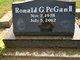 "Ronald G. ""Ronnie"" PeGan, II"