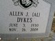 "Profile photo:  Allen J ""Al"" Dykes"