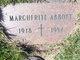 """Profile photo:  Marguerite P. """"Margaretta"""" <I>Stevens</I> Abbott"""
