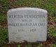Wertha <I>Pendleton</I> Cole