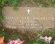 Pvt George Lee Anderson
