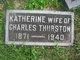 Profile photo:  Katherine <I>Williams</I> Thurston