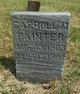 Carroll M Painter