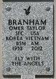 Sgt Omer Taylor Branham