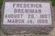 Profile photo:  Frederick Breniman