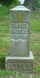 Profile photo:  Daniel Doyle