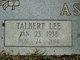 "Talbert Lee ""Squeak Sonny"" Asberry"