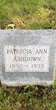 Profile photo:  Patricia Ann Ashdown