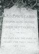 Joseph Gibson Carr