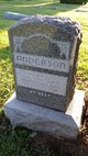 Profile photo:  Bertha Anderson