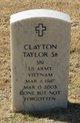 Spec Clayton Taylor, Sr