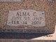 Profile photo:  Alma Clair <I>Stone</I> Adair