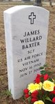 Profile photo:  James Willard Baxter