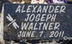 Profile photo:  Alexander Joseph Waltner