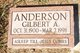 Gilbert A Anderson