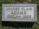 George Clair Adams
