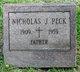 Nicholas J Peck