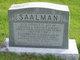 "Elizabeth Jane ""Betsy"" <I>Howe</I> Saalman"