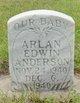 Arlan Edwin Anderson