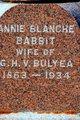 Annie Blanche <I>Babbitt</I> Bulyea