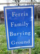 Ferris Family Burying Ground