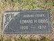"""Edward Henry """"Eddie"""" Gibbs"""