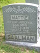"Martha J. ""Mattie"" Saalman"