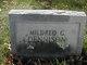 """Mildred Elizabeth """"Billie"""" <I>Gough</I> Dennison"""