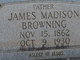 James Madison Browning