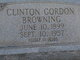 Clinton Gordon Browning