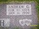 "Profile photo:  Andrew Charles ""Andy"" Bush"