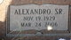 """Profile photo:  Alexandro """"Alex"""" Castillo, Sr"""