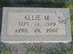 Profile photo:  Allie Mae <I>Miller</I> Bledsoe