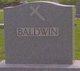 Gertrude <I>Meister</I> Baldwin