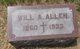 """William A """"Will"""" Allen"""