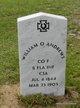 Pvt William Oscar Andrews