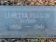 "Mabel Loretta ""Etta"" <I>Sherwood</I> Pelsor"