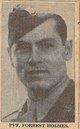 Pvt Forrest Milton Holmes