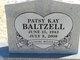 Patsy Kay <I>Crawford</I> Baltzell