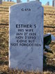 Profile photo:  Esther S DeBoer