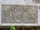Profile photo:  Ada Mae <I>Bennet</I> Fowler