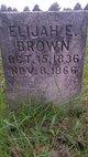 Elijah E Brown