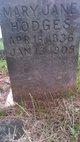 Mary Jane Hodges